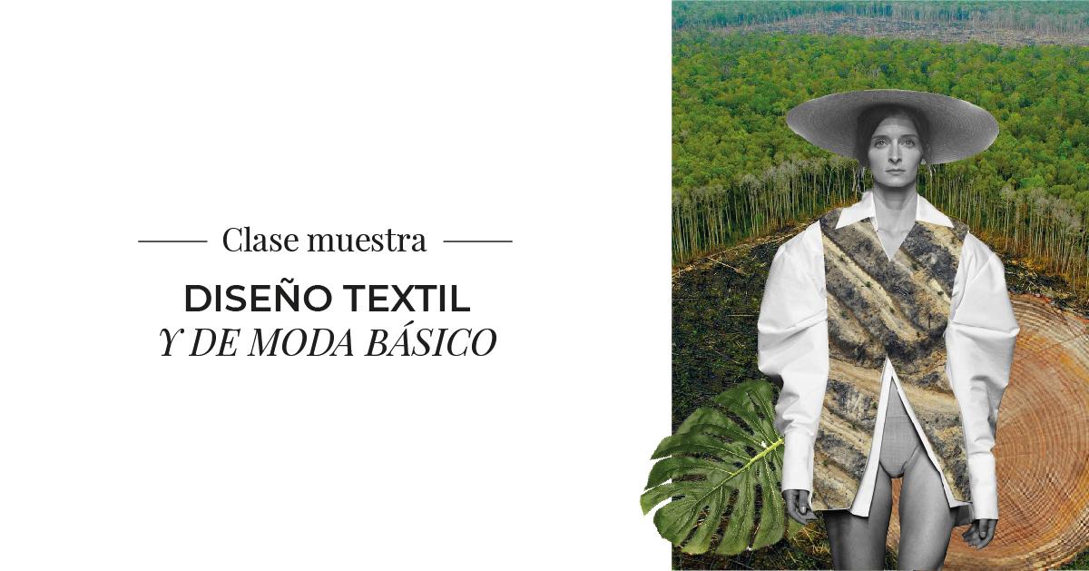 Clase Muestra Diseño Textil y de Moda