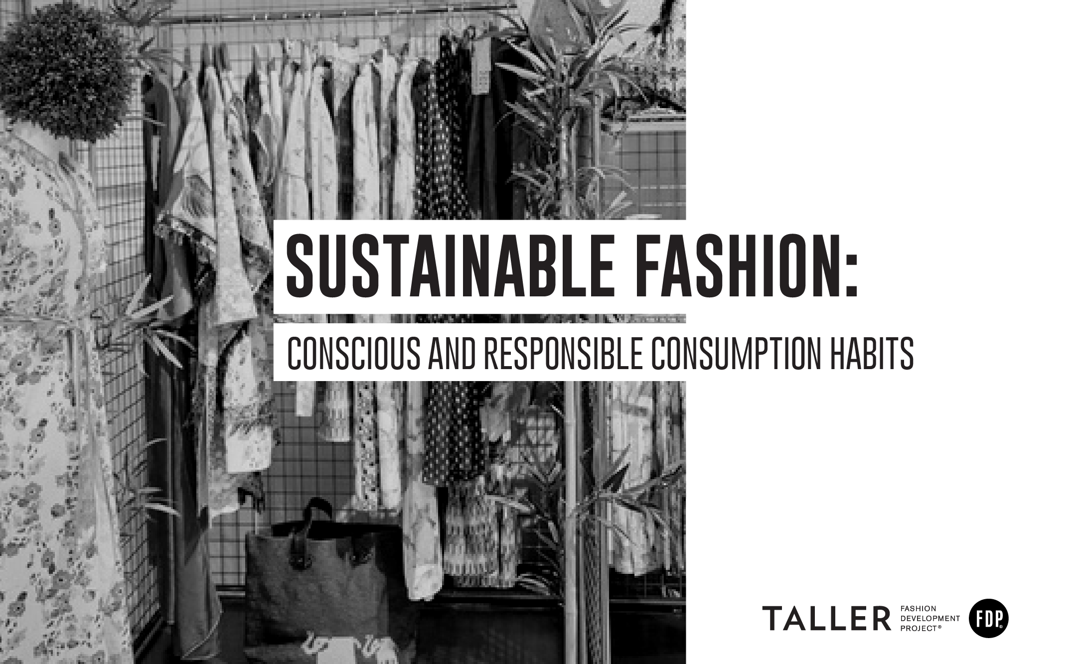 Sustainable Fashion: Conscious and responsible consumption habits.