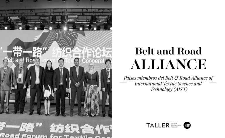 ¿Cuáles son los países miembros del Belt & Road Alliance of International Textile Science and Technology (AIST)?