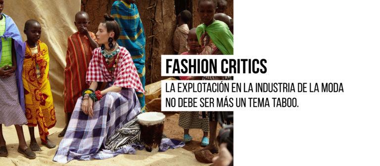 El entorno laboral de las mujeres:  La explotación en la industria de la moda no debe ser más un tema taboo.