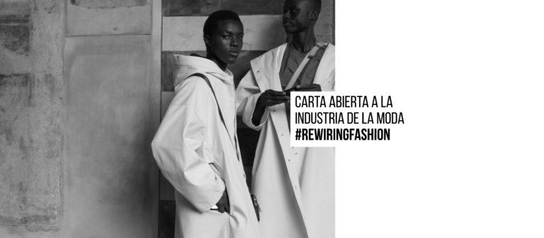 Carta abierta a la industria de la moda