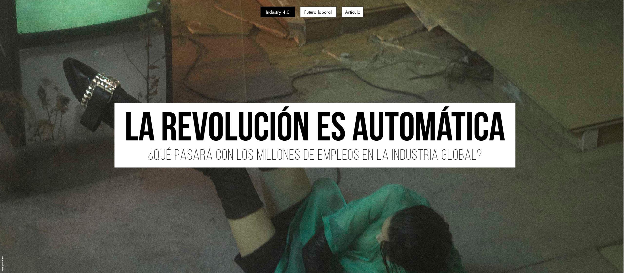 La revolución es automática.