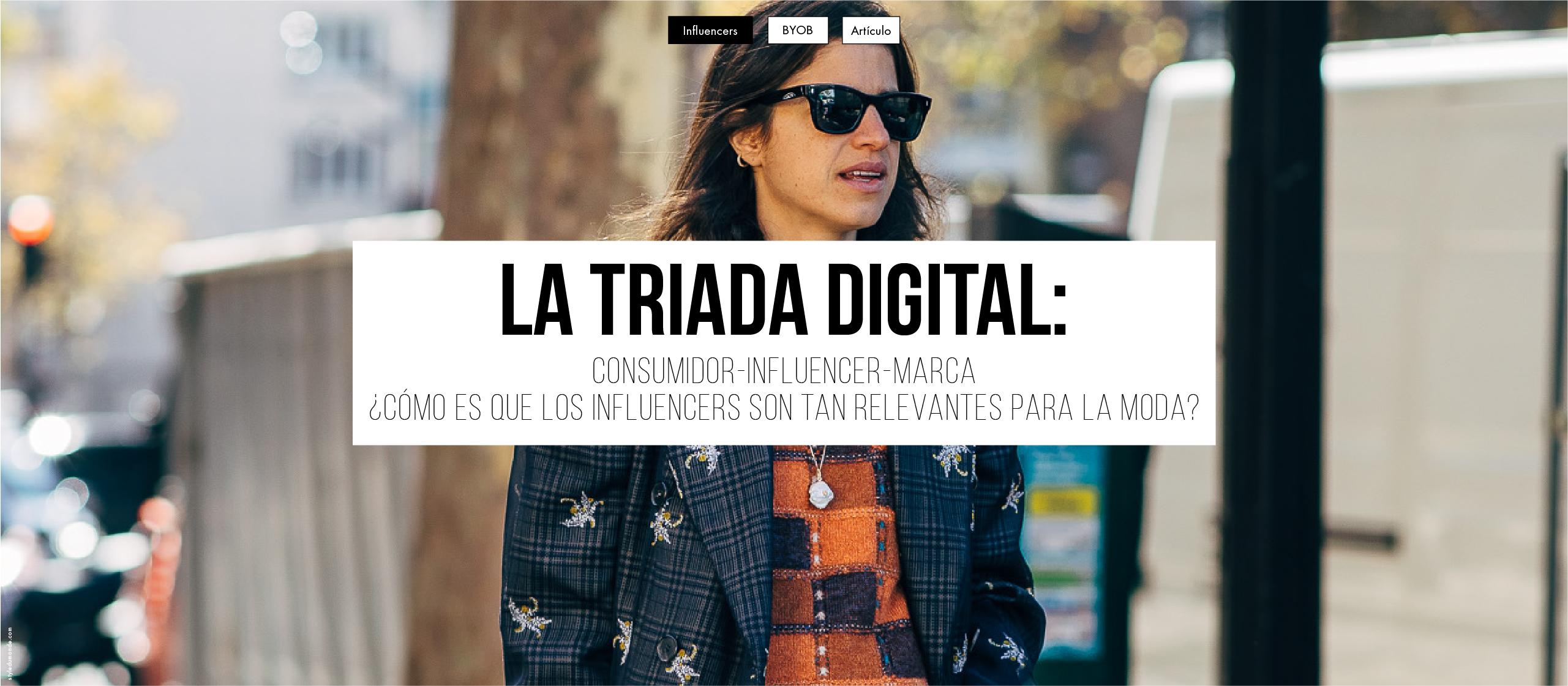 La Triada digital: Marca, Influencer y Consumidor
