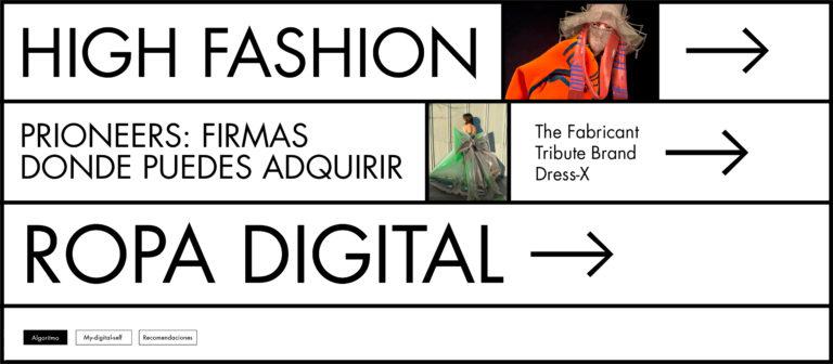 Virtual Pioneers: Firmas donde puedes adquirir ropa digital