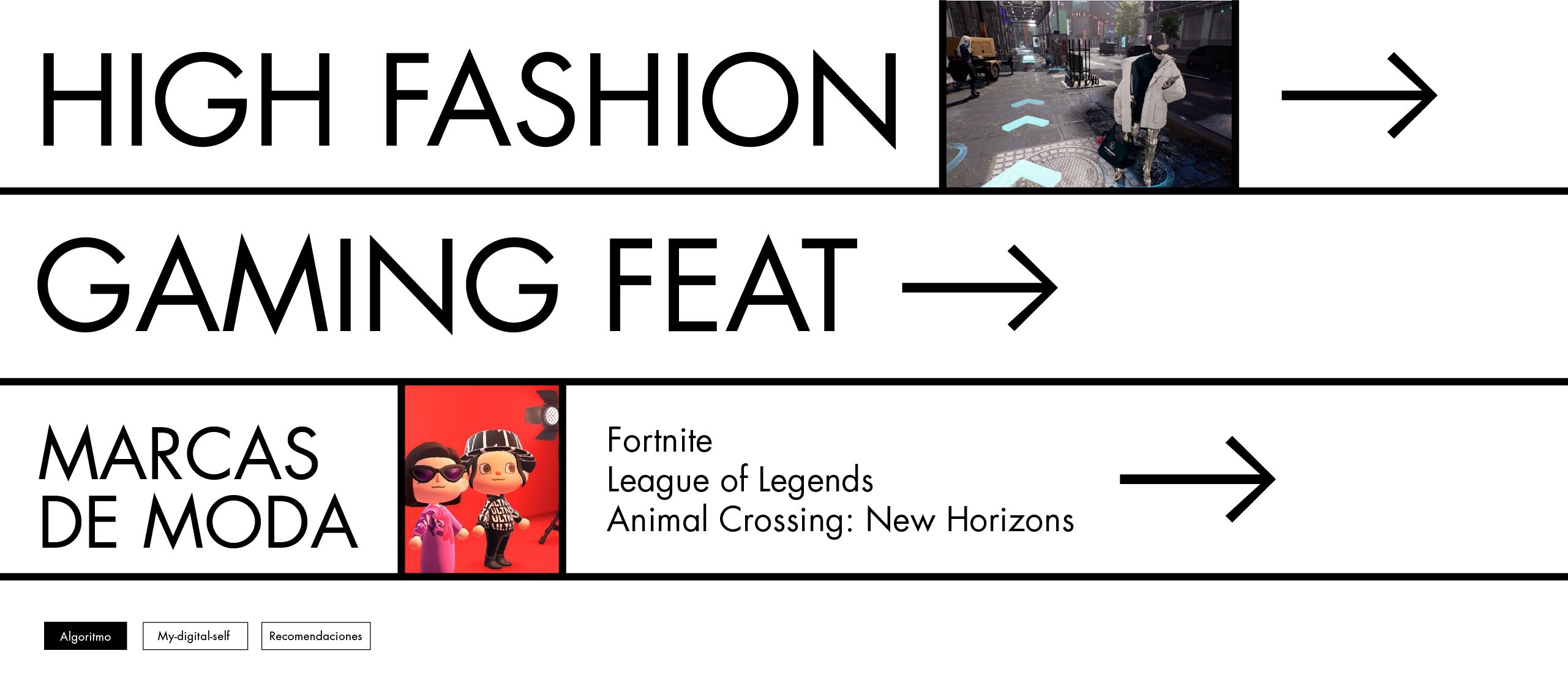 High Fashion Gaming – Juegos featuring marcas de moda